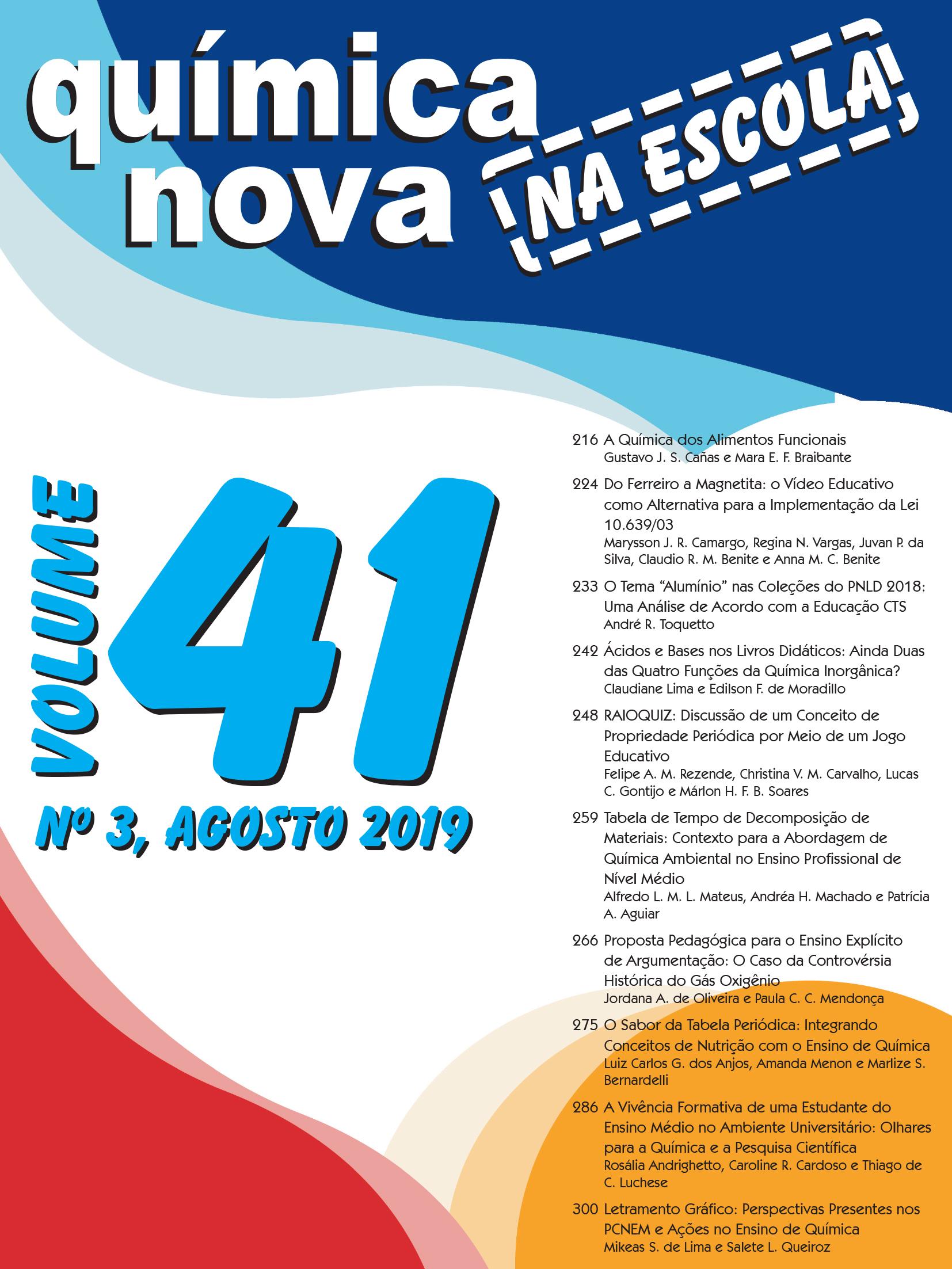 QNEsc Vol. 41 N<sup><u>o</u></sup>3