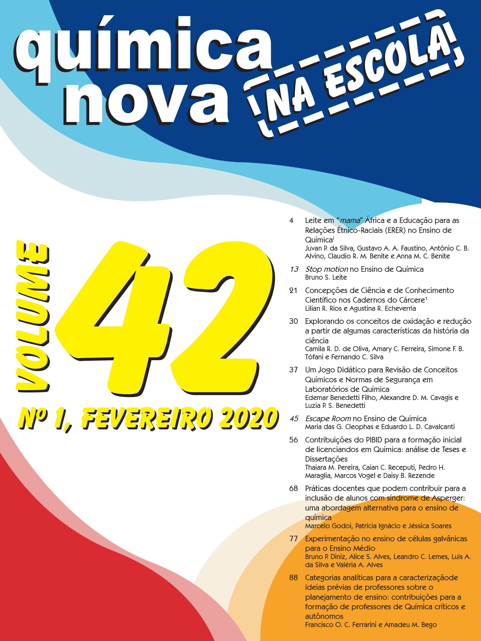 QNEsc Vol. 42 N<sup><u>o</u></sup>1